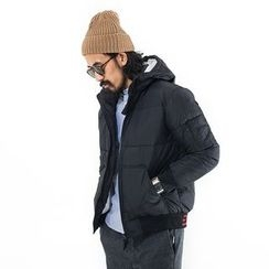 YIDESIMPLE - Hooded Padded Coat