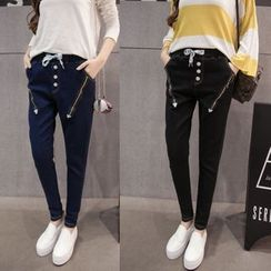 Sienne - Zip Harem Jeans