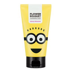 Missha - Minions Edition : Flower Bouquet Cleansing Foam (Cherry Blossom) 120ml