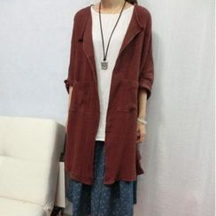 Ranche - Open Front Long Jacket