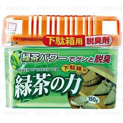 小久保 - 炭脫臭劑 (綠茶味) (鞋櫃用)