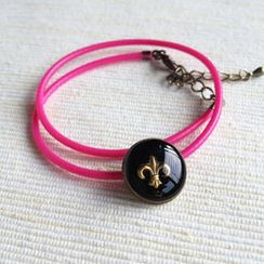 MyLittleThing - Pink Scout Double Bracelet