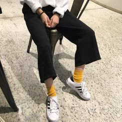 Alfie - Wide-Leg Cropped Pants