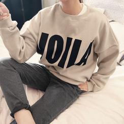 NANING9 - Brushed-Fleece Sweatshirt