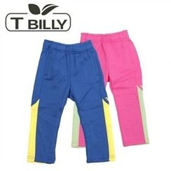 TWINSBILLY - Kids Contrast-Trim Sweatpants