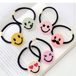 Coolgirl - Smiley Face Hair Tie