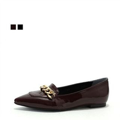 MODELSIS - Chain-Detail Loafers