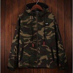 Bigboy - Camouflage Hooded Jacket
