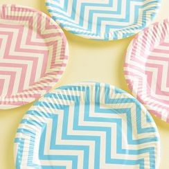 Mulin Arts & Crafts - Disposable Printed Paper Plate