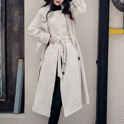MUSI - Mock Two-piece Coatdress
