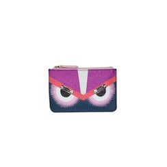 DABAGIRL - Eyes Genuine-Leather Coin Purse