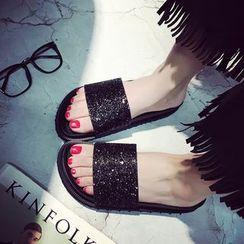 Danso - Glitter Slide Sandals