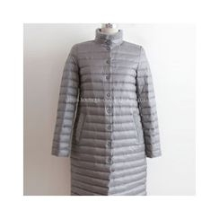 LEELIN - Dock-Down Long Padded Coat