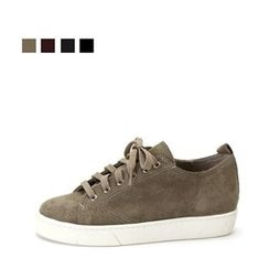 MODELSIS - Genuine-Suede Sneakers