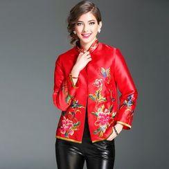 Elabo - Floral Embroidered Jacket