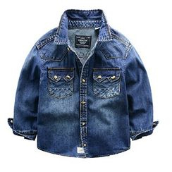 Kido - Kids Denim Shirt