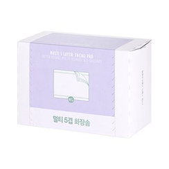 The Face Shop - Daily Beauty Tools Multi 5 Layer Cotton Pad