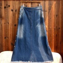 tete - 水洗牛仔裙