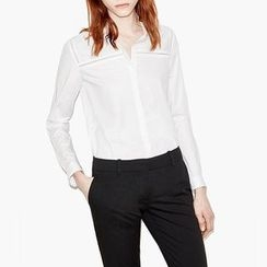 Obel - Perforated Plain Shirt