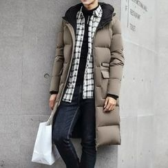 Bay Go Mall - Hooded Down Coat