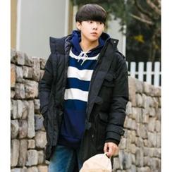 ABOKI - Cotton Hooded Jacket