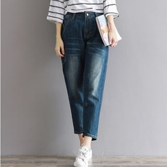 Clover Dream - Cropped Jeans