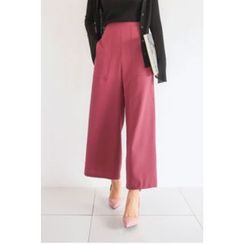 PPGIRL - Pocket-Detail Wide-Leg Pants