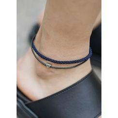 JOGUNSHOP - Triangle-Pendant Anklelet