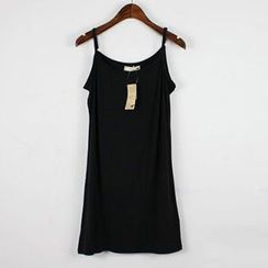 LaRos - 純色吊帶裙
