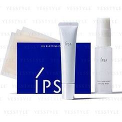 IPSA - Set: Super Mat Concealer 15g + The Time Rest Micro Mist 30ml + Oil Blotting Paper 30pcs