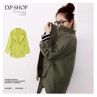 D.P-Shop - Tab-Sleeve Lapel Jacket