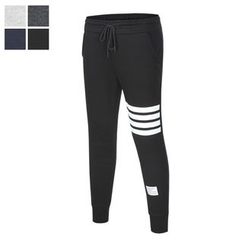 DANGOON - Contrast-Trim Slim-Fit Sweatpants