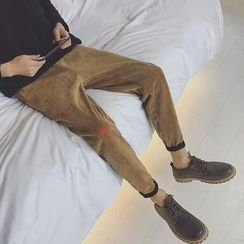 JUN.LEE - Corduroy Harem Pants