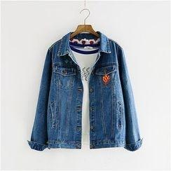Storyland - Embroidery Denim Jacket