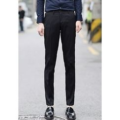 PLAYS - Flat-Front Dress Pants