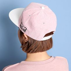 WHITE FOX - Lettering Two-Tone Baseball Cap