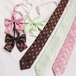 Rega - Printed Ribbon Collar / Tie