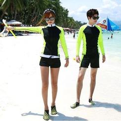 Tamtam Beach - 情侶拉鍊衝浪泳衣/短褲