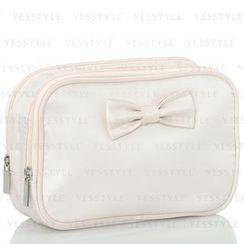 Shiseido - Light Pink Bow Two Pockets Bag
