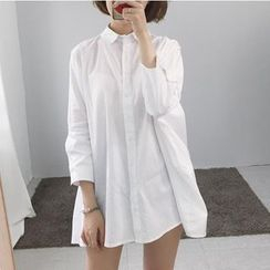 Windflower - A-Line Long Shirt