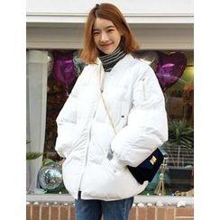 FROMBEGINNING - Zip-Up Padded Jacket