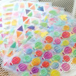 Homey House - 水彩装饰贴纸