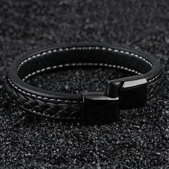 Andante - Faux Leather Bracelet