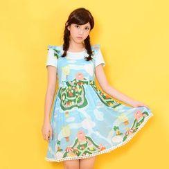 Mozoo - Printed Jumper Dress