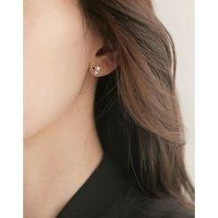 UPTOWNHOLIC - Rhinestone Earrings