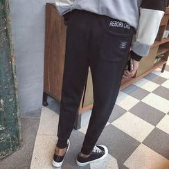 qiaqiayes - Lettering Sweatpants