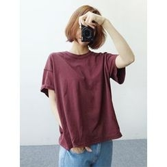 FROMBEGINNING - Short-Sleeve Oversized T-Shirt