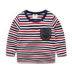 WellKids - 长袖条纹T恤