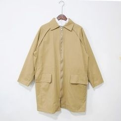 Mr. Cai - Zip Trench Coat