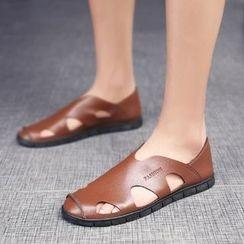 MARTUCCI - Cutout Flat Sandals